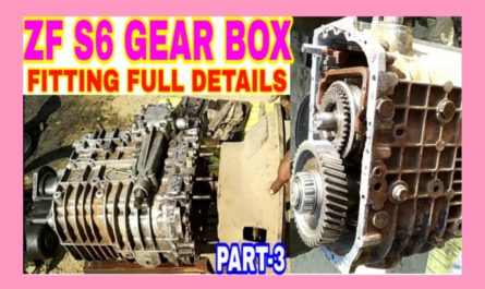 zf s6 gear box fitting